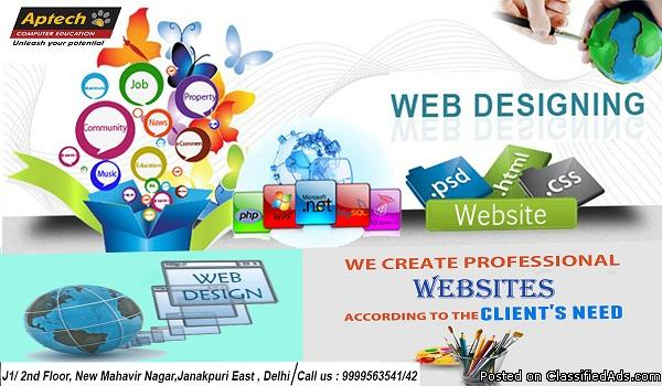 Best Website Designing Institute in Delhi | Aptech Janakpuri