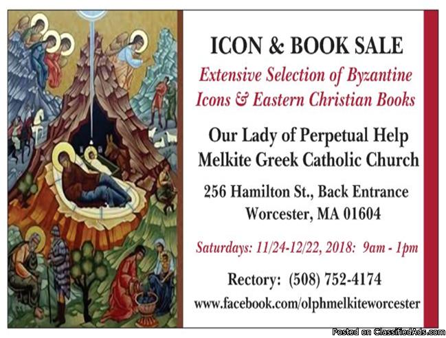 Byzantine Icons & Eastern Christian Books