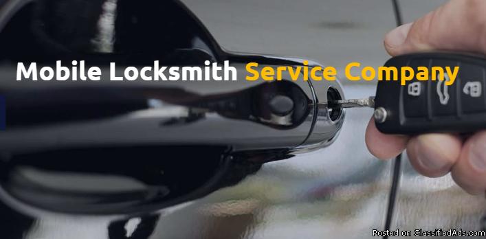 Mobile locksmith service Company & Car Locksmith Services in