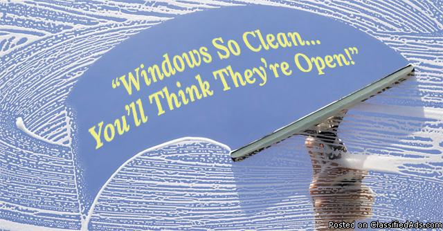 Professional Window Washing & Gutter Cleaning Services