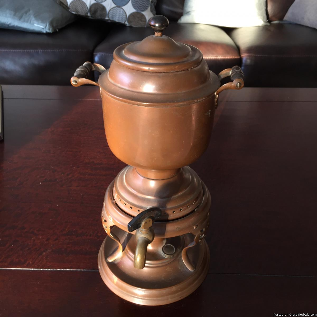 Antique Copper Tea Kettle for sale