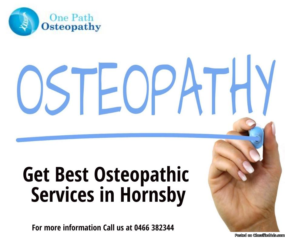 Get Best Osteopathic Services in Hornsby