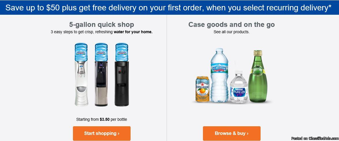 HOME & OFFICE WATER DELIVERY SERVICE
