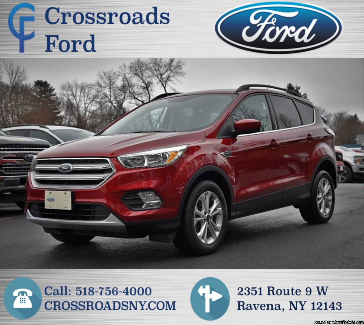 FORD ESCAPE SE AWD! LOW MILES! UT