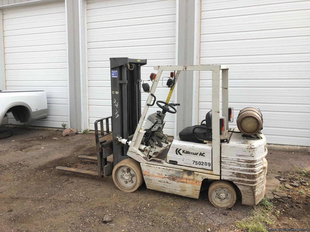 Raymond Forklift Narrow Isle Double Reach Needs
