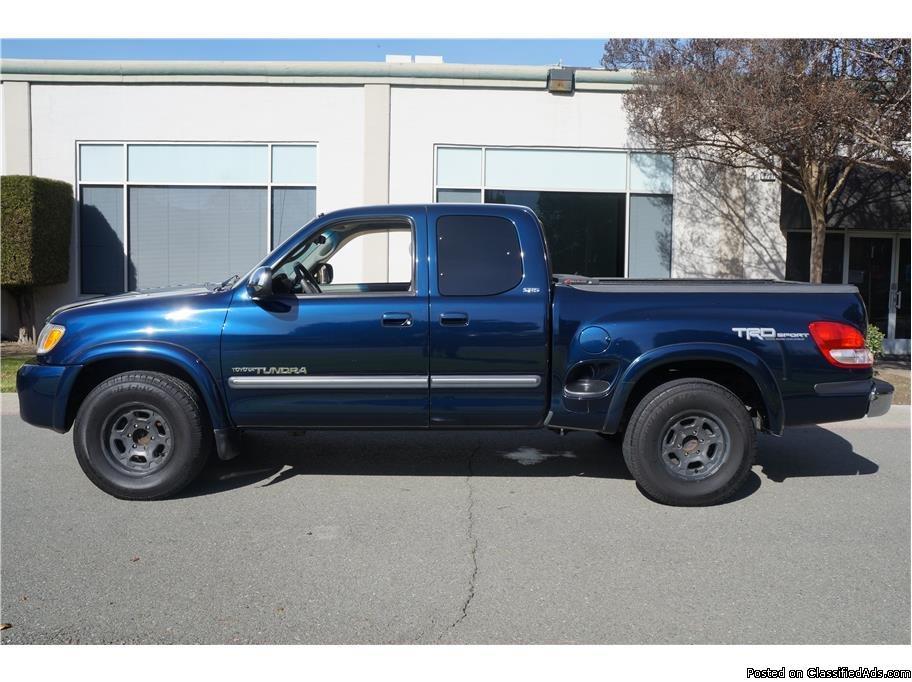 Toyota Tundra Blue Truck