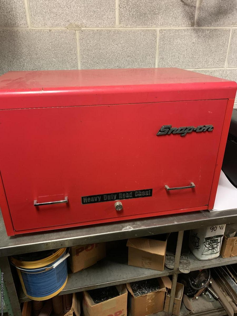 Heavy duty Snap on road chest