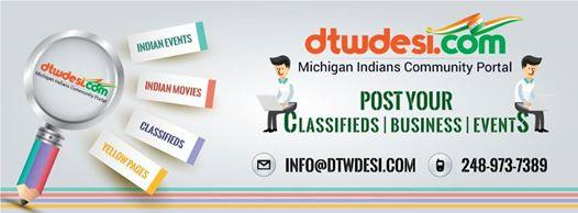 Indian Community Events in Michigan, Detroit.
