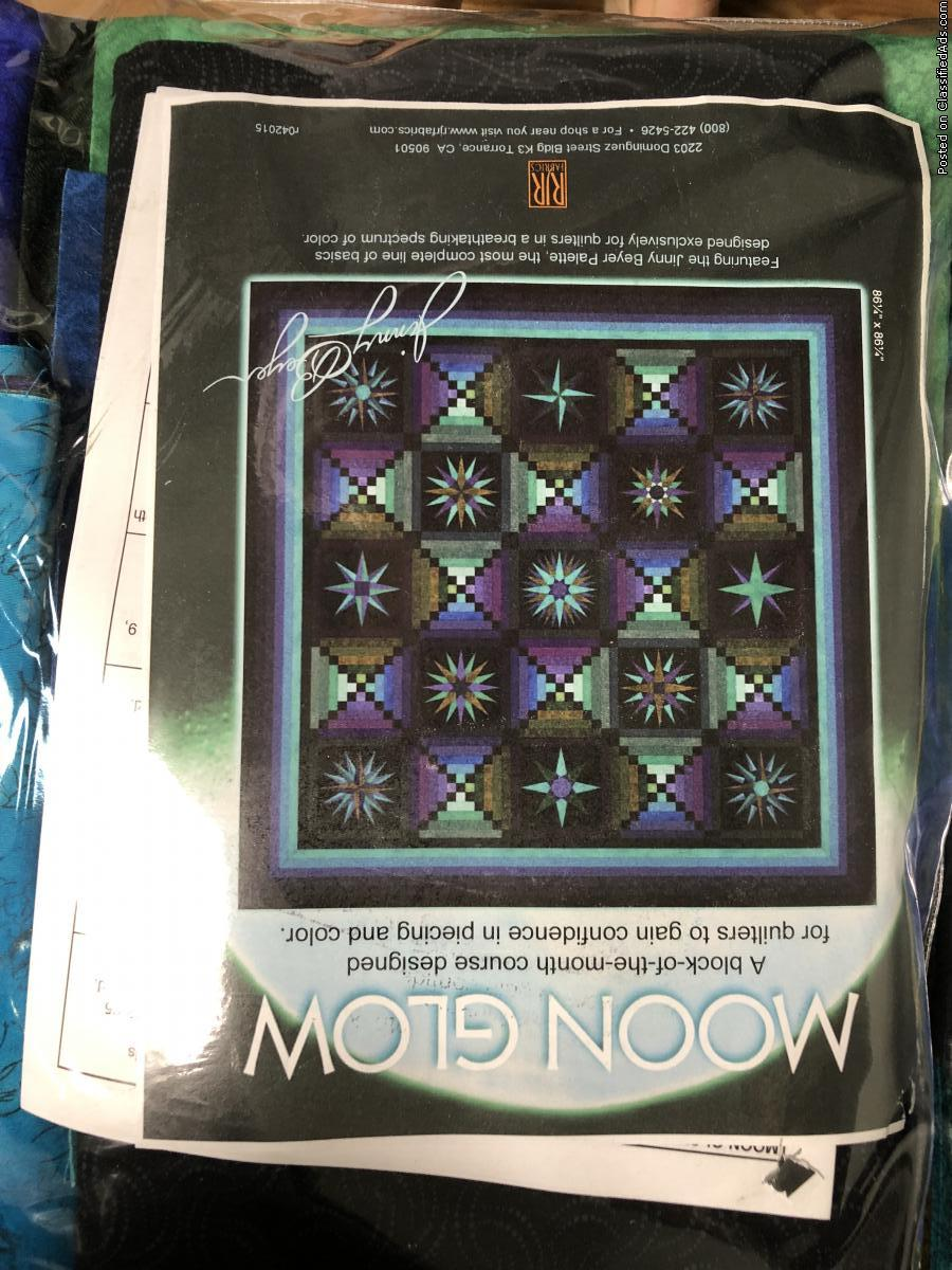 Moonglow quilt kit
