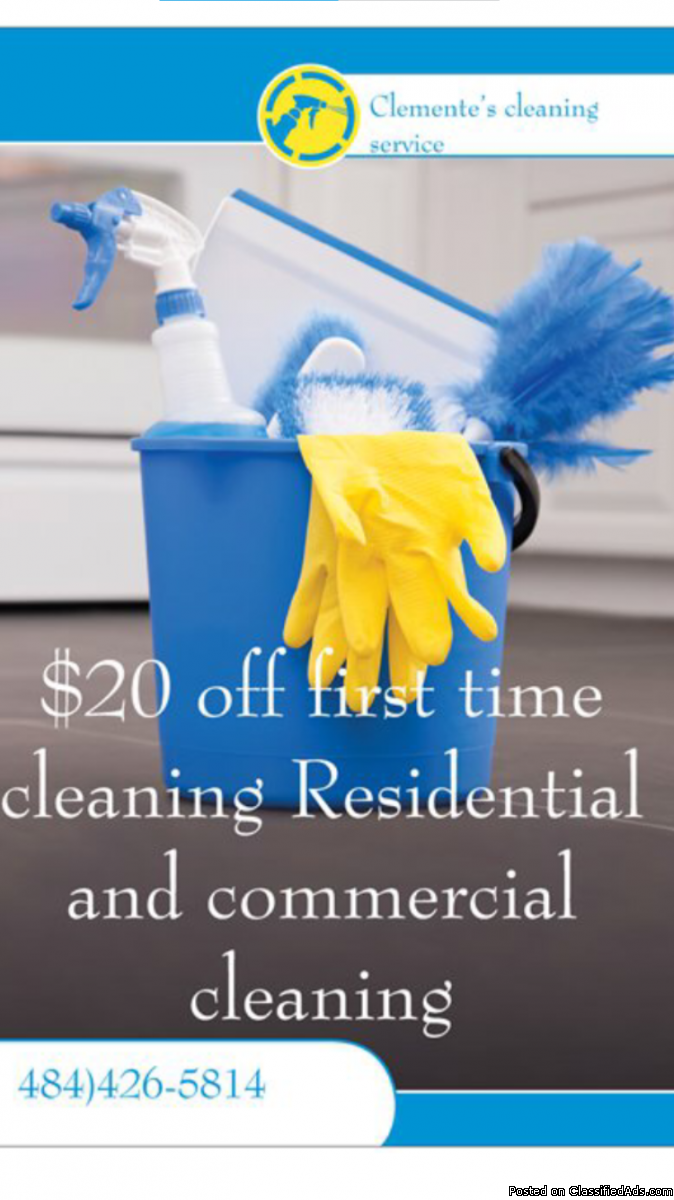 Clementes cleaning service