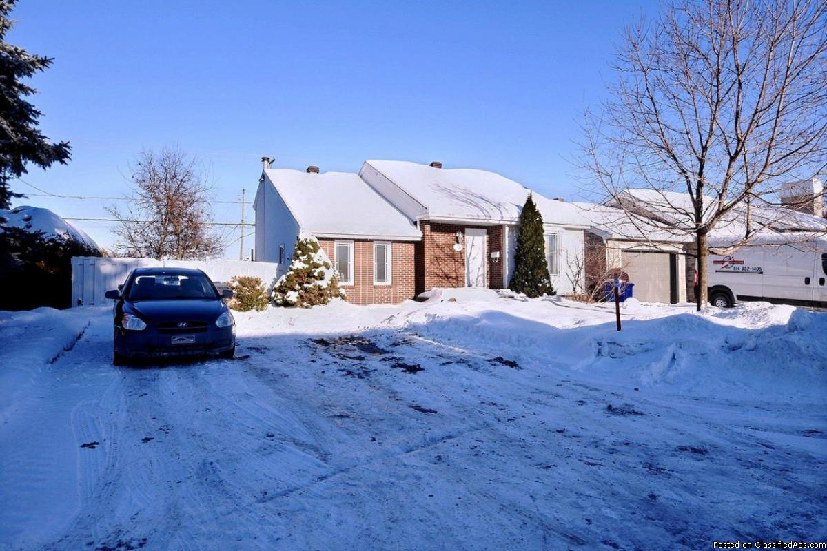 A smart buy ! Beautiful house in Sainte-Therese