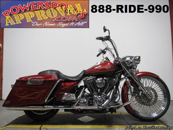 Used Harley Road King for sale in Michigan U