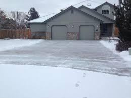 F&D snow removal services