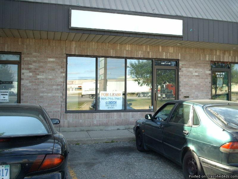 Commercial Units for lease
