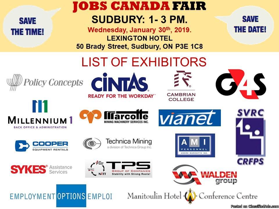 FREE: Sudbury Job Fair