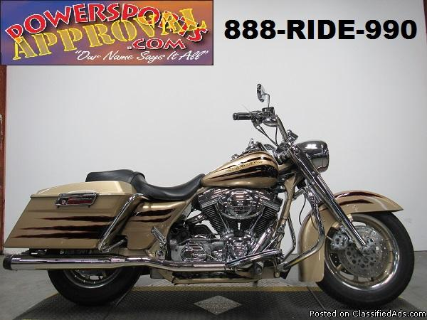 Used Harley Screaming Eagle Road King for sale in Michigan