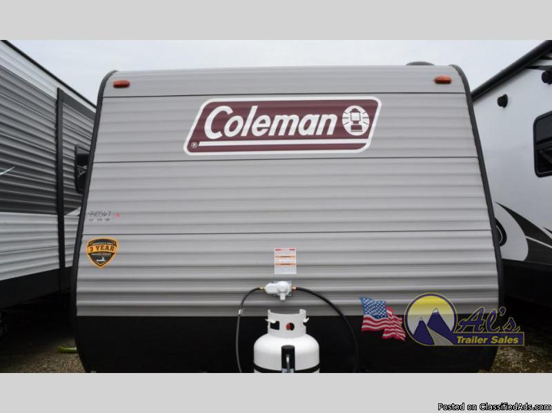 New  Dutchmen RV Coleman Lantern LT Series 17FQWE