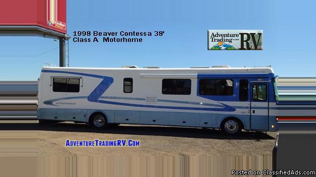 Beaver Contessa 38' Class A Diesel 330 Motorhome