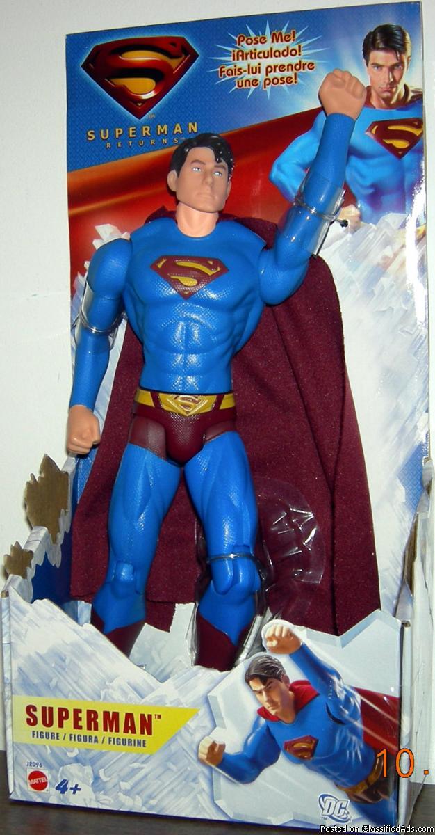 SUPERMAN RETURNS FIGURE