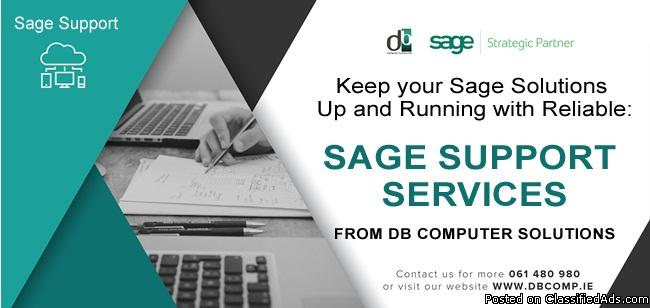 Sage Support Services from DB Computer Solutions