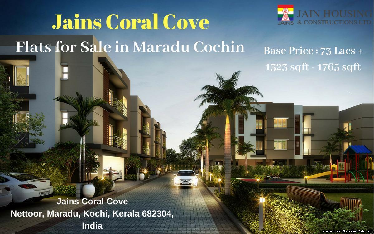 1 bhk 2 bhk 3 bhk Apartments for Sale in Maradu