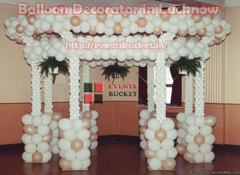 The Balloon Decorator in Lucknow