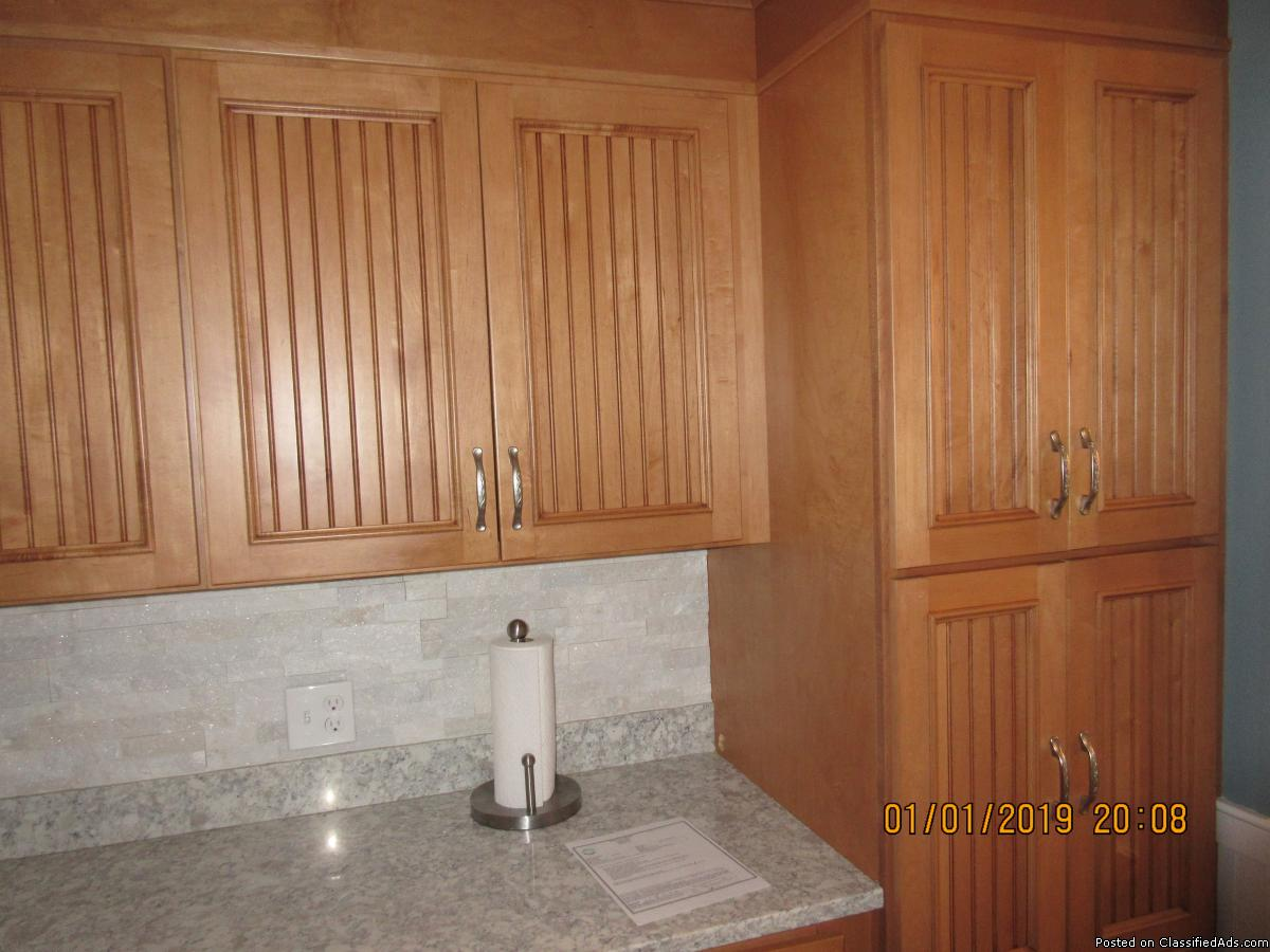 Professionally Painted Kitchen Cabinets