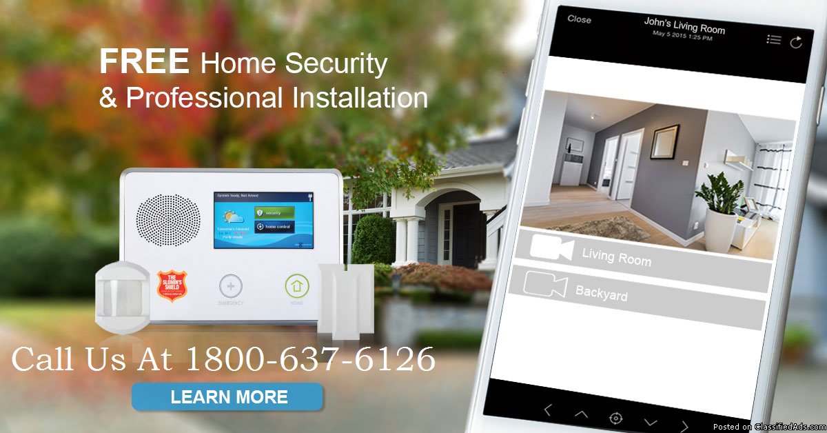 Wireless Security System | The #1 Rated Security. $15/mo?