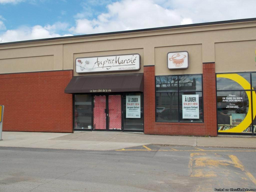 sqft commercial space for rent Old-Longueuil