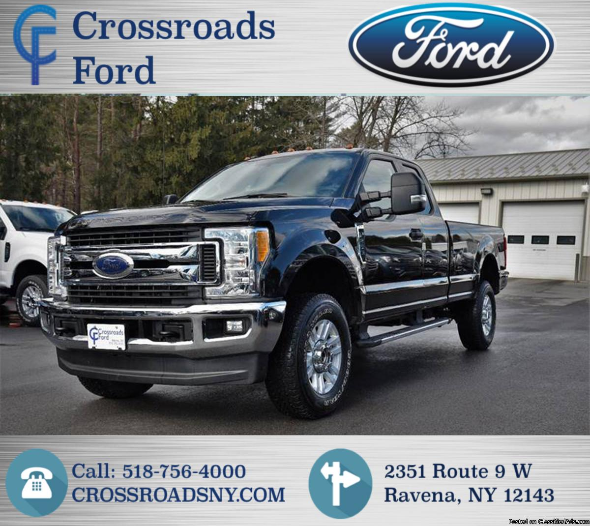 FORD F-250 XLT SUPER DUTY FX4 OFF ROAD! 12K MILES!