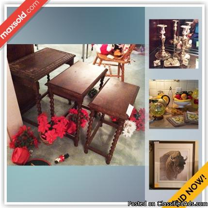 Burnaby Downsizing Online Auction