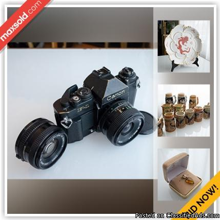 Richmond Hill Downsizing Online Auction