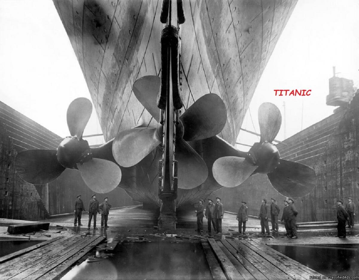 YESTERYEARS: TITANIC PROPELLERS