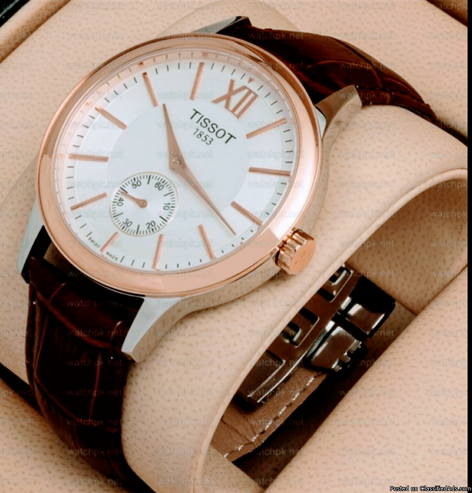 TISSOT TWO TONE ROSE GOLD WATCH