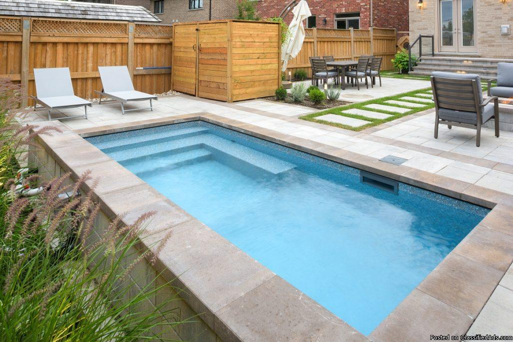 Get ready for summer by installing a swimming pool!