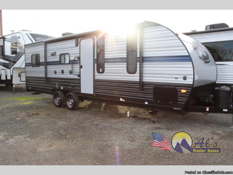 New  Forest River RV Cherokee Grey Wolf 22RR