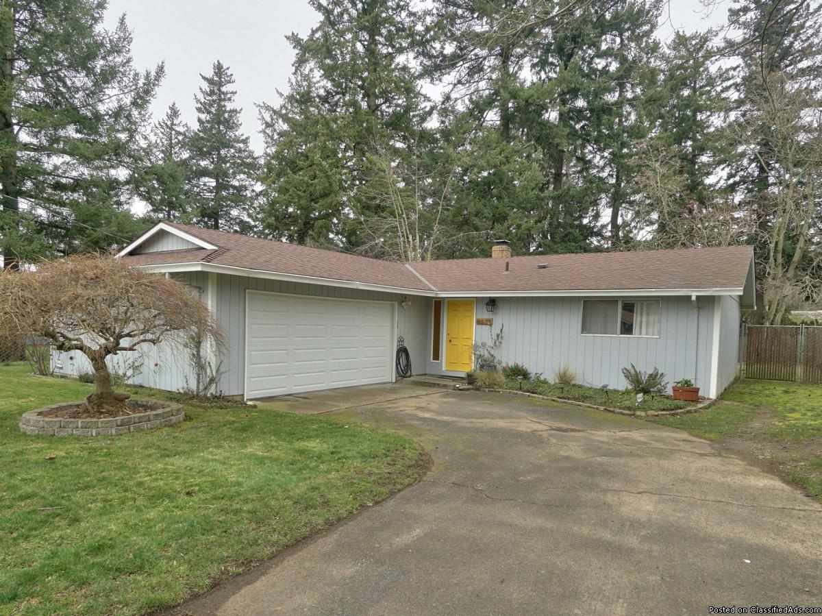 One level, ¼ acre lot Move In Ready Home