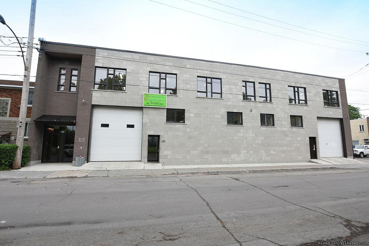 CONCRETE building, COMPLETE 2nd FLOOR for rent  sqft
