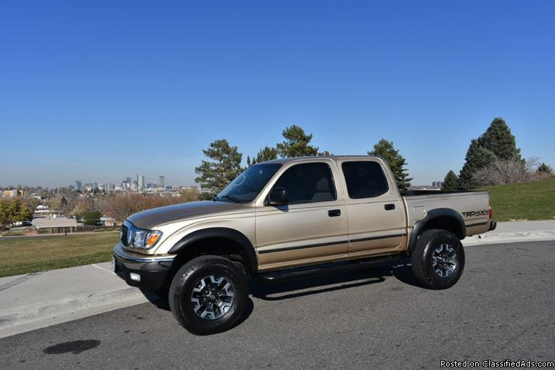 Toyota Tacoma Gold Pickup Truck