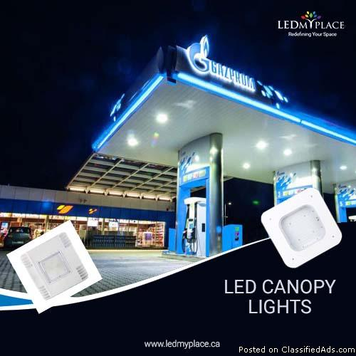 Enhance Your Gas Station with LED Canopy Light