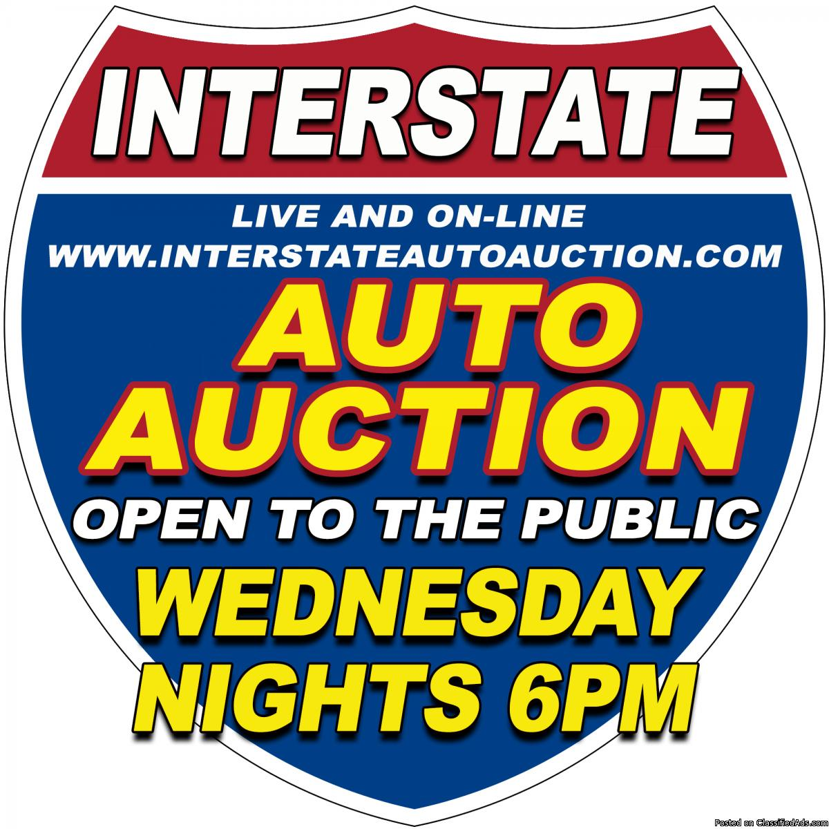 Interstate PUBLIC Auto AUction