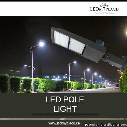 Make Your Outdoor Safer with Outdoor LED Pole light