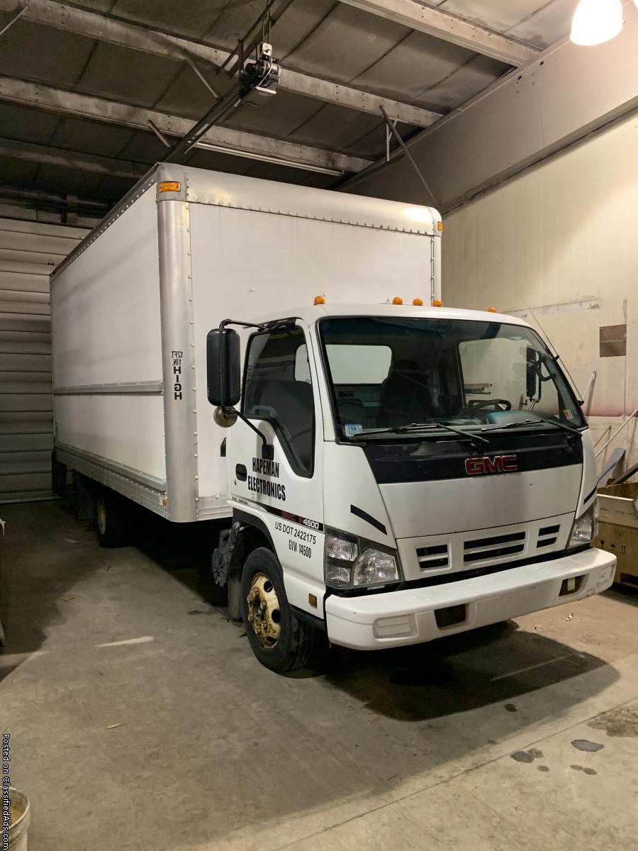 GMC Isuzu W BOX TRUCK for sale!