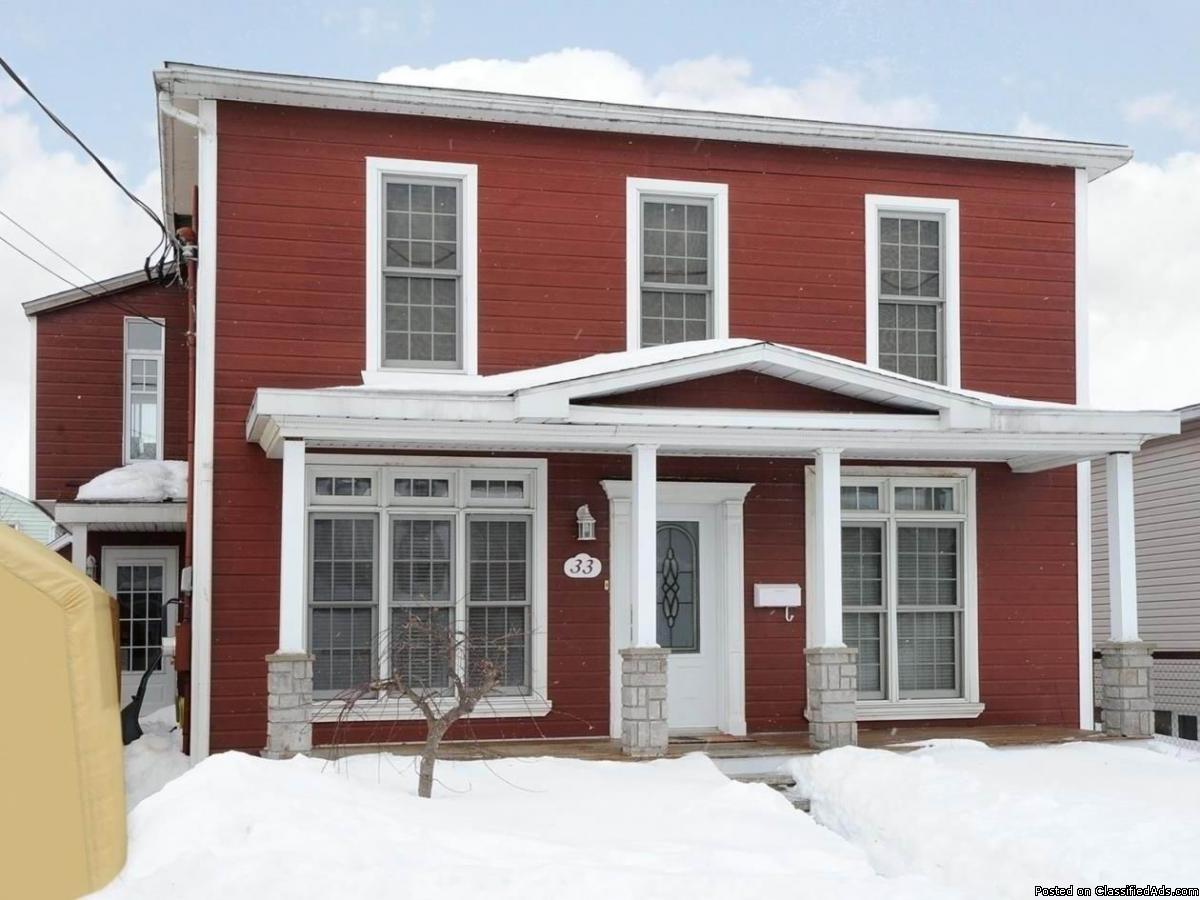 Magnifique maison au décor chaleureux/chic Valleyfield 209