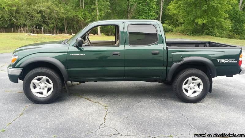 Toyota Tacoma Green Pickup Truck