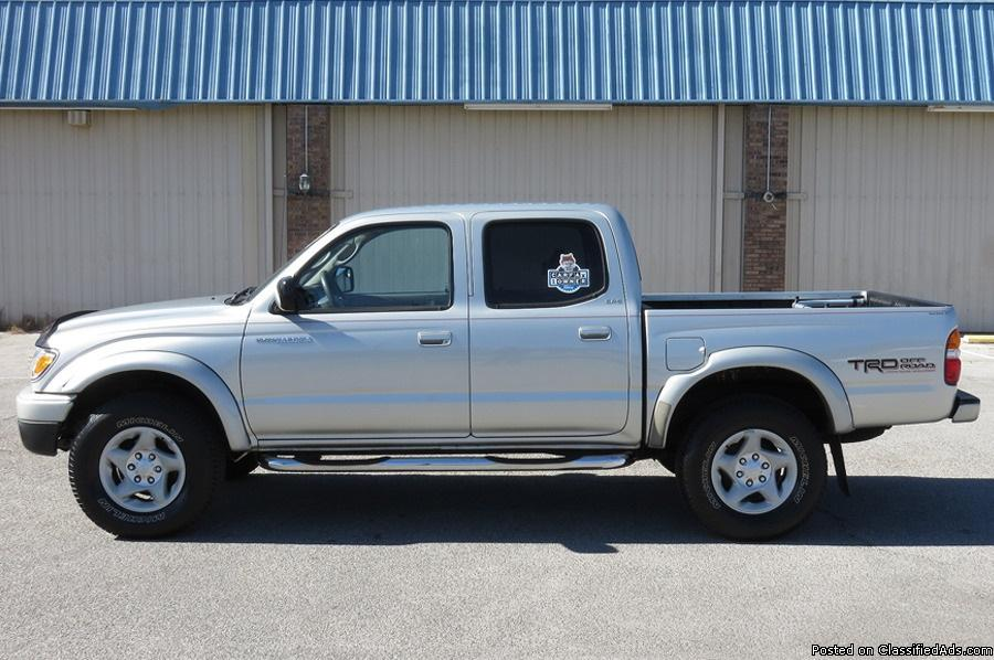 Toyota Tacoma Silver Pickup Truck