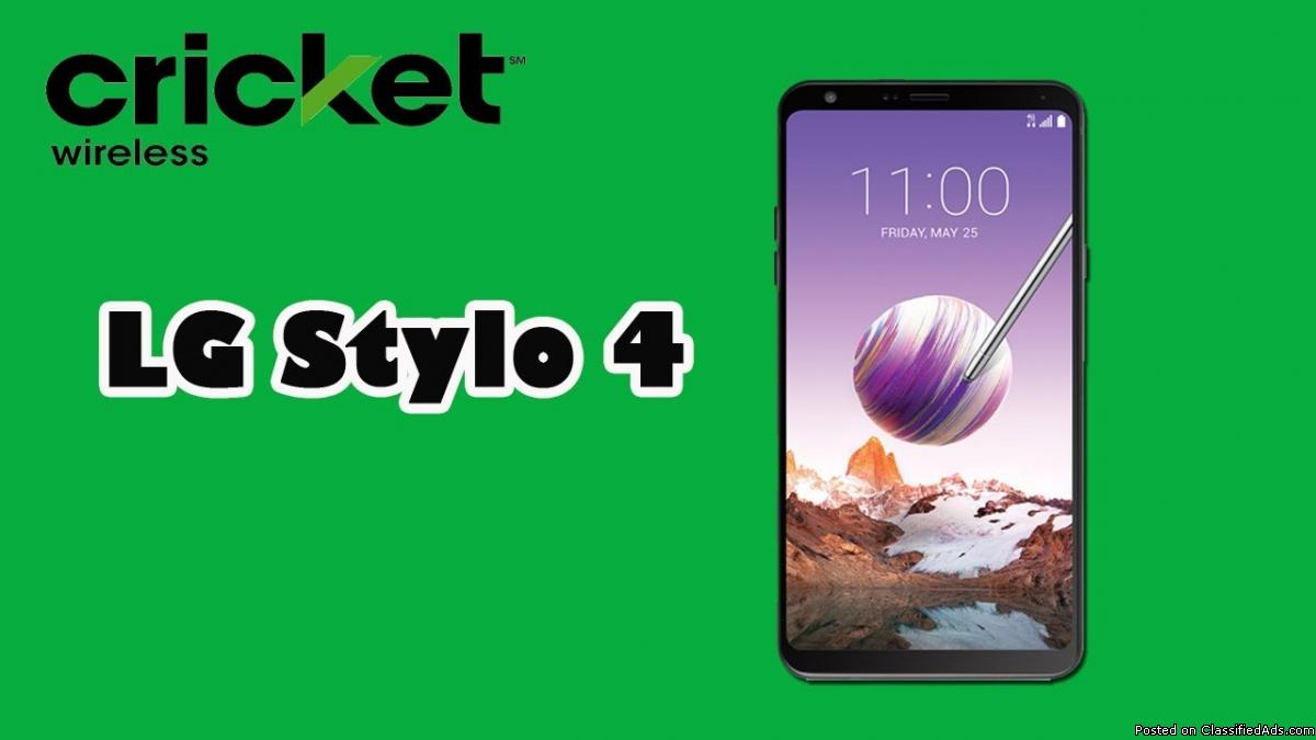 LG STYLO 4 IS ON SALE TODAY @ CRICKET WIRELESS TAYLOR FOR