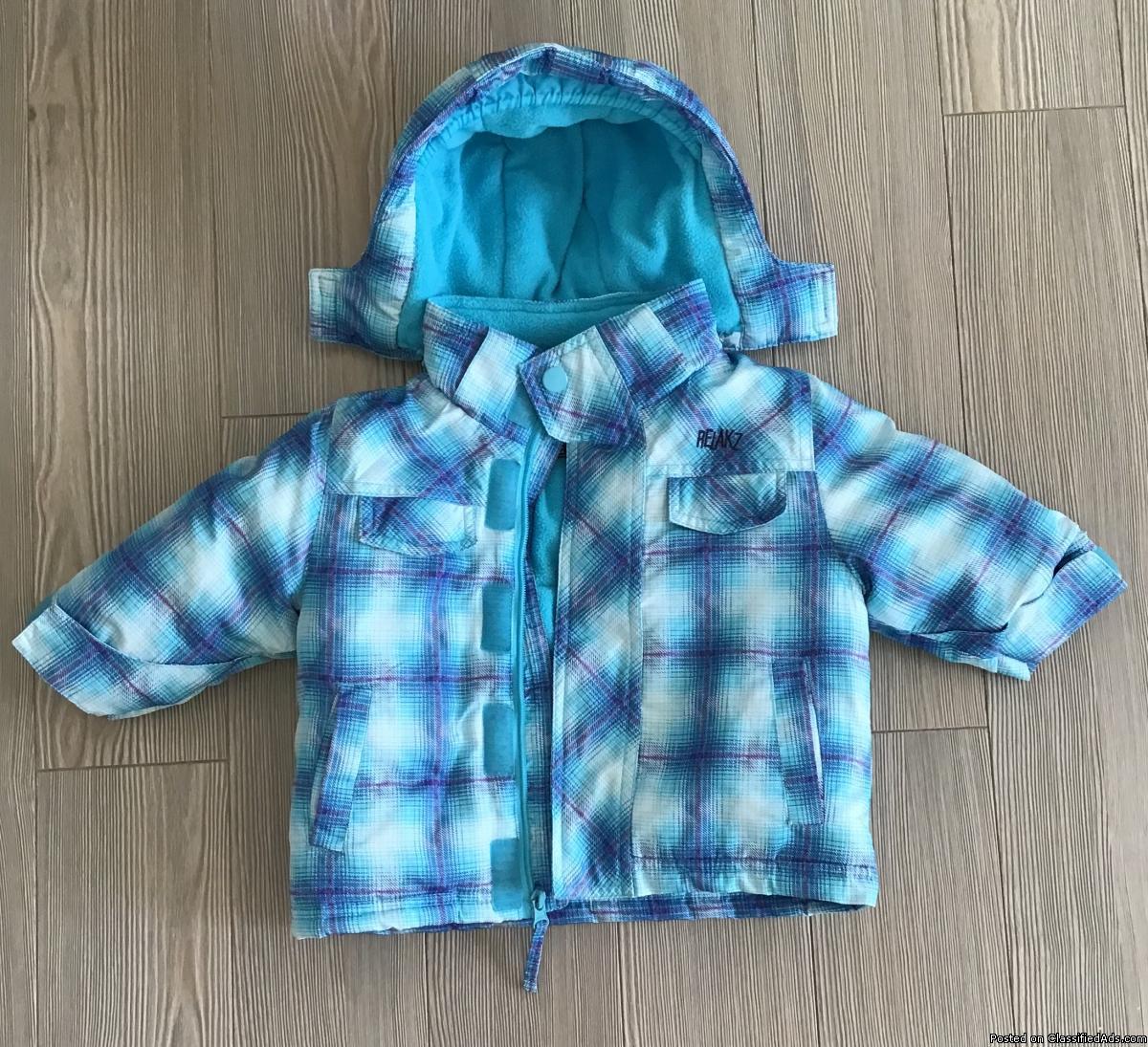 Vêtement pour bébé garçon 6-12 mois.Veste d'hiver /