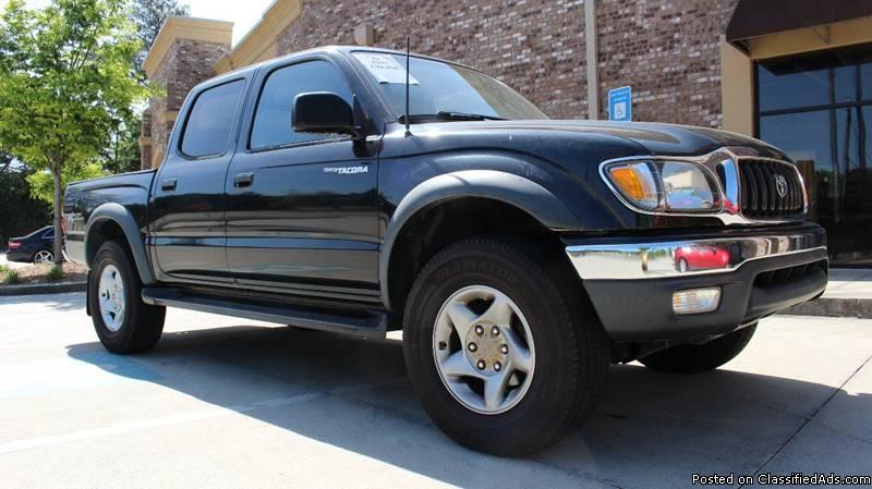 Toyota Tacoma Black Pickup Truck