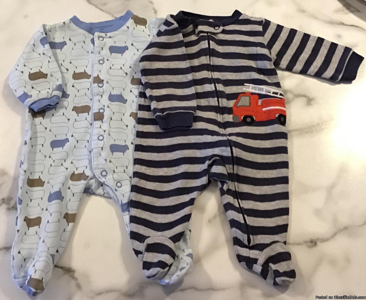 vêtements pour bébé garçon 0-3 mois / clothes for baby
